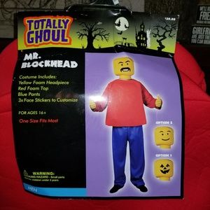 Mr. Blockhead Costume